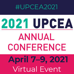 2021 UPCEA Annual Conference | April 7-9, 2021 | Virtual Event | #UPCEA2021